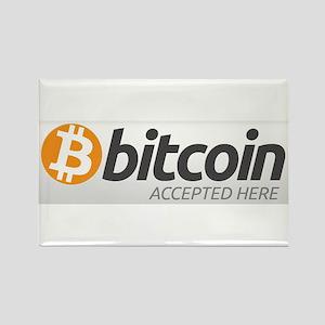 Bitcoins-7 Rectangle Magnet