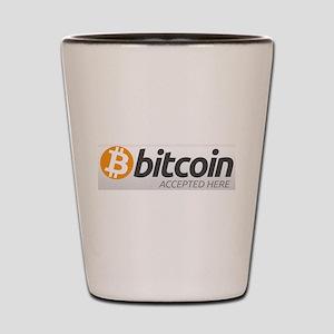 Bitcoins-7 Shot Glass