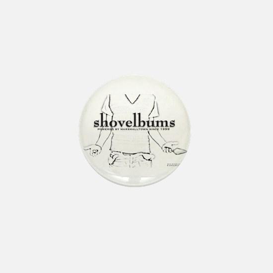 Shina duVall - Powered By Marshalltown Mini Button