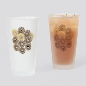 Hedgehog Party Drinking Glass