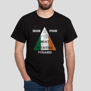 Irish Food Pyramid Dark T-Shirt