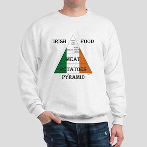 Irish Food Pyramid Sweatshirt