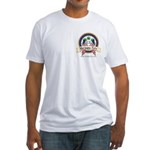 US Marijuana Party Fitted T-Shirt