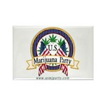 US Marijuana Party Rectangle Magnet (100 pack)
