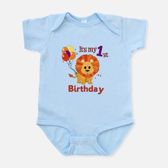 1st Birthday Lion Infant Bodysuit