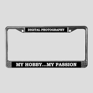 Digital Photography License Plate Frame