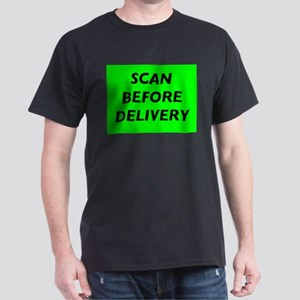 Scan Before Delivery Black T-Shirt
