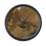 Untamed Spirit 3 Large Wall Clock