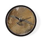 Untamed Spirit 3 Wall Clock