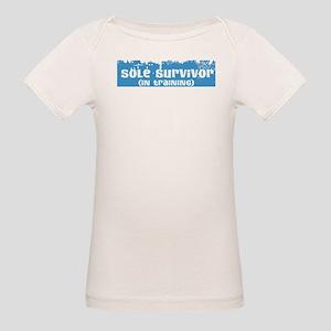 Sole Survivor (in training) Organic Baby T-Shirt