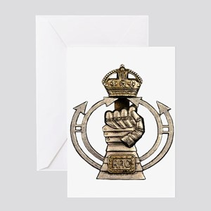 Royal Armoured Corps Greeting Card