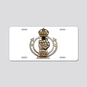 Royal Armoured Corps Aluminum License Plate