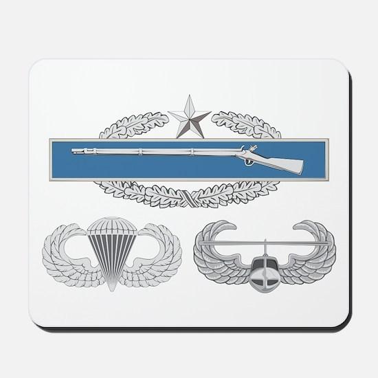 CIB 2nd Airborne Air Assault Mousepad