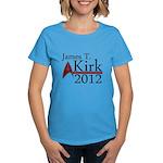 James Kirk 2012 Women's Dark T-Shirt