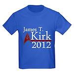 James Kirk 2012 Kids Dark T-Shirt