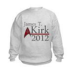 James Kirk 2012 Kids Sweatshirt