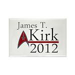 James Kirk 2012 Rectangle Magnet (100 pack)