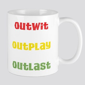Outwit, Outlast, Outplay Rast Mug