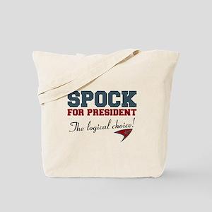Spock for President Tote Bag