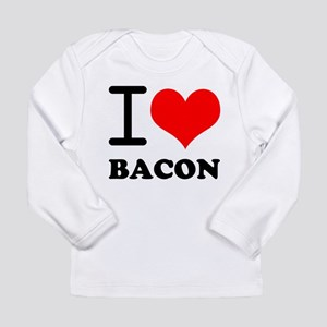 I Love Bacon Long Sleeve Infant T-Shirt
