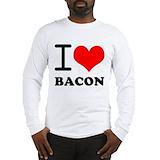 Bacon Long Sleeve T-shirts