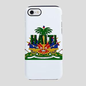 Haitian Coat of Arms iPhone 7 Tough Case