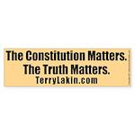 The Truth Matters Bumper Sticker 50 PK