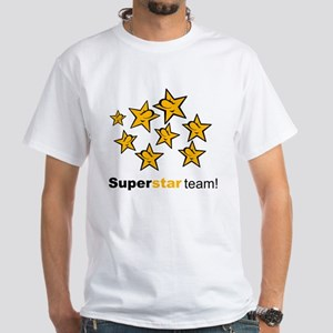 SuperStar Team White T-Shirt