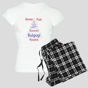 Korean Food Pyramid Women's Light Pajamas