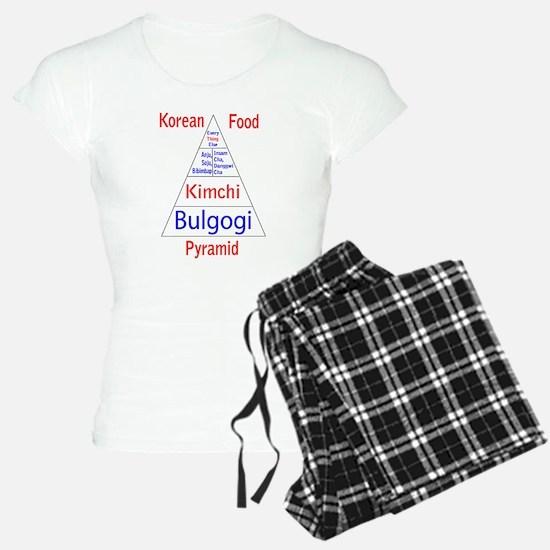 Korean Food Pyramid Pajamas