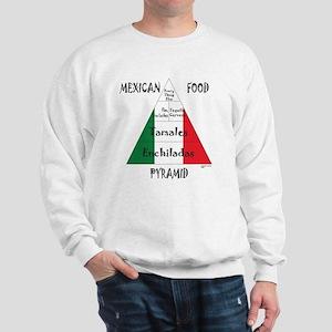 Mexican Food Pyramid Sweatshirt