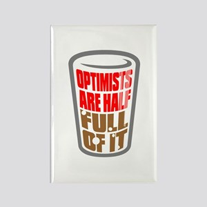 OPTIMISTS... Rectangle Magnet