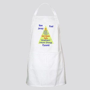 New Jersey Food Pyramid Apron