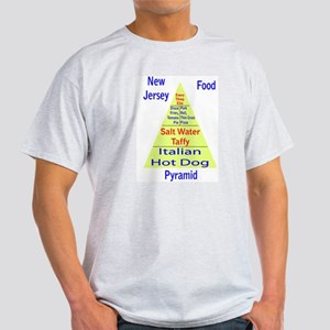 New Jersey Food Pyramid Light T-Shirt