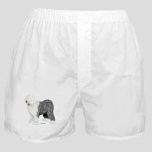 Old English Sheepdog Boxer Shorts