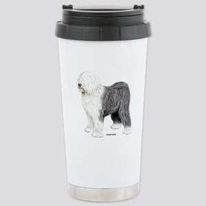 Old English Sheepdog Stainless Steel Travel Mug