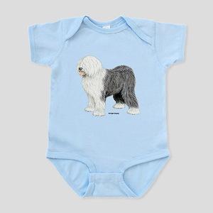 Old English Sheepdog Infant Bodysuit