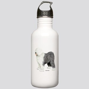 Old English Sheepdog Stainless Water Bottle 1.0L