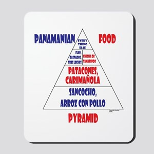 Panamanian Food Pyramid Mousepad