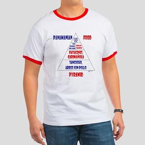 Panamanian Food Pyramid Ringer T