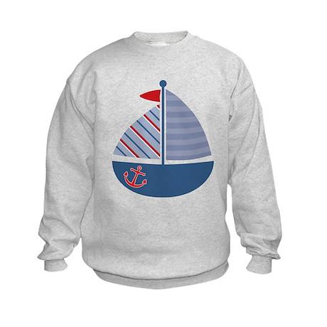 Sailboat Kids Sweatshirt