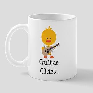 Guitar Chick Mug