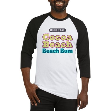 Cocoa Beach Beach Bum - Baseball Jersey