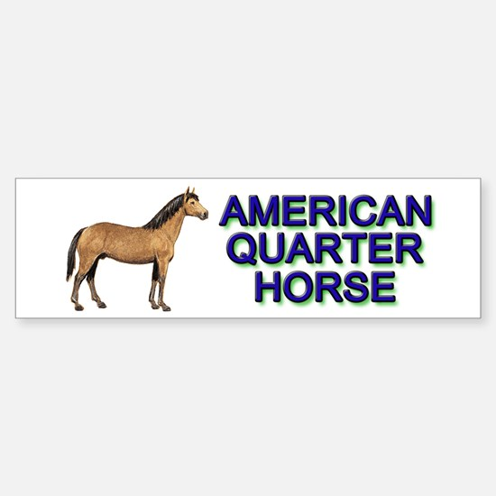 American Quarter Horse Sticker (Bumper)
