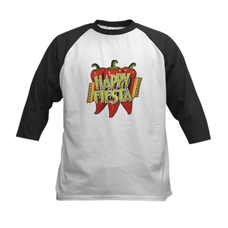 Happy Fiesta Kids Baseball Jersey