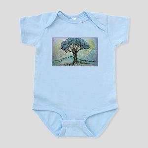 Tree, Colorful, Infant Bodysuit