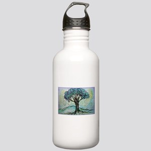 Tree, Colorful, Stainless Water Bottle 1.0L