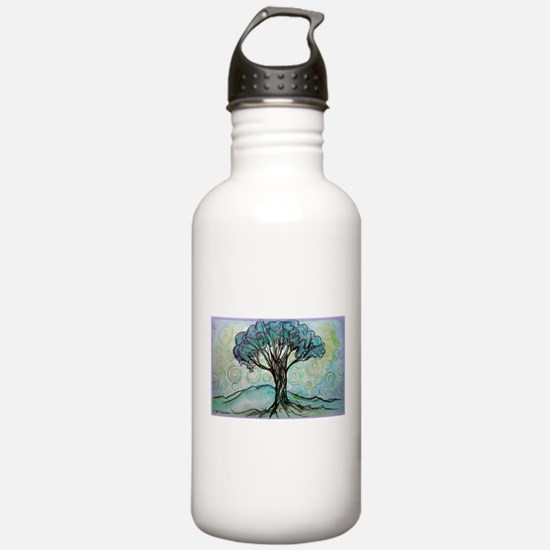 Tree, Colorful, Water Bottle