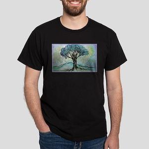 Tree, Colorful, Dark T-Shirt