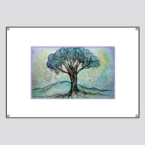 Tree, Colorful, Banner